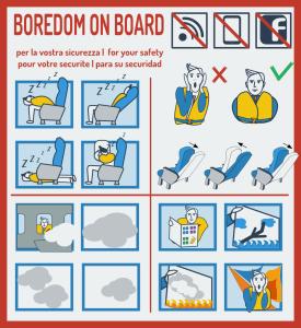 Jak radzić sobie z nudą w samolocie?