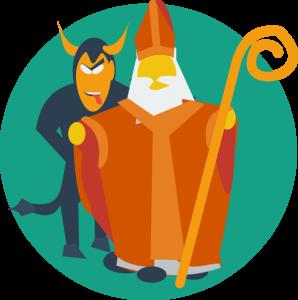 Mikołaj i Krampus CIRCLE