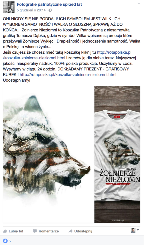 Niezłomni - koszulka + kubek