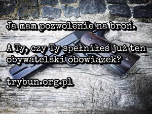 Broń - obowiązek