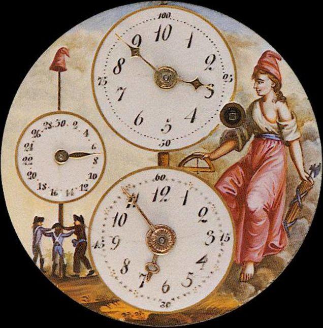 Revolution clock