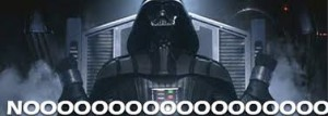 Darth Vader Nooooo Blu-ray edition zmiana